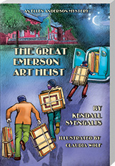 'The Great Emerson Art Heist' - a mystery novel set in 1942 Gary